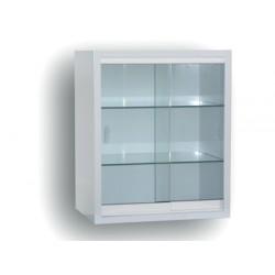 vitrina mural blanca