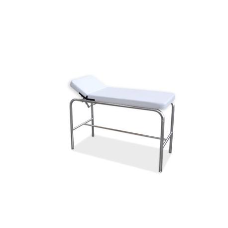 Camilla Cromada Pediatrica Tapizado Blanco