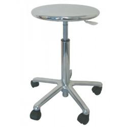 taburete asiento metalico